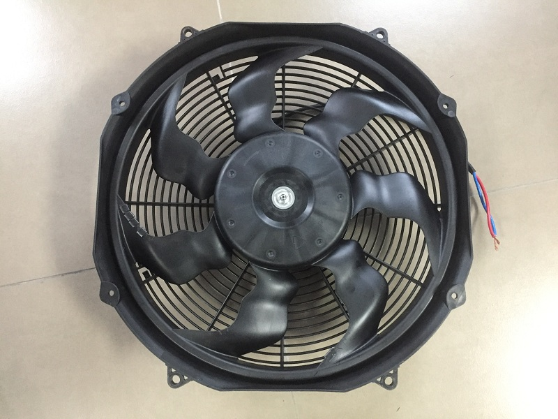 Brushless condenser fan